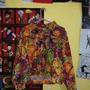 chico's color full jacket size 3